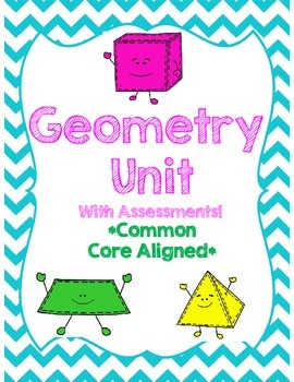 Geometry Unit *Common Core Aligned* With Assessments