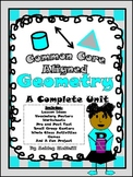 Geometry Unit ~~ Common Core Aligned!!!