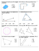 Geometry Unit Exam ~ 7th Grade Common Core Exam