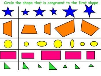 Geometry Unit Flipchart Packet