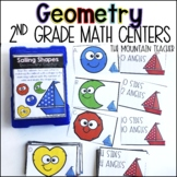 Fraction Centers (Geometry Centers) for Second Grade