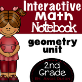 Geometry Second Grade Math Notebook