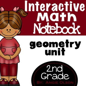 Geometry Second Grade Math Notebook