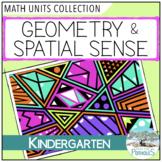 Geometry & Spatial Sense math lessons and activities - Kindergarten FDK