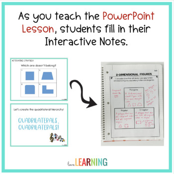 Geometry Unit {Lessons, Interactive Notes, Games, Task Cards, and More}