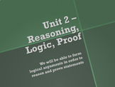 Geometry Unit Plan  2 - Reasoning and Logic