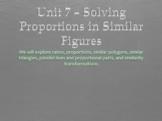 Geometry Unit 7 Bundle - Proportions & Similarity (18 days)