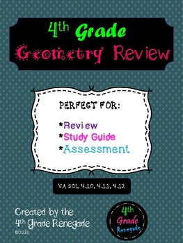 Geometry Unit Review