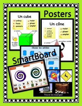 Geometry Unit: SmartBoard Lessons, Posters, Word Wall, Activities, Worksheets