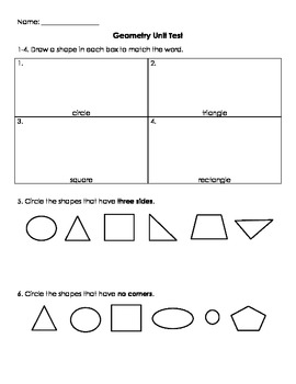 Geometry Unit Test