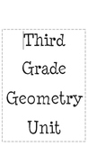 Geometry Unit Third Grade