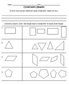 Geometry Unit Third Grade