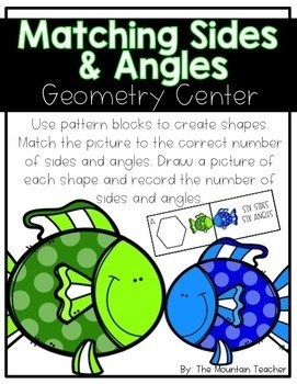Geometry Centers - Second Grade