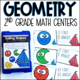 Geometry Centers for Second Grade