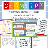Geometry Unit for Blended Learning