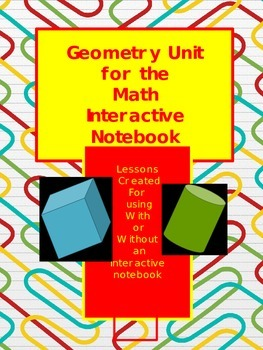 Geometry Unit for Interactive Notebooks or Not!