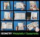 Geometry Unit for Kindergarten BUNDLE - Centers - Assessment - Worksheets