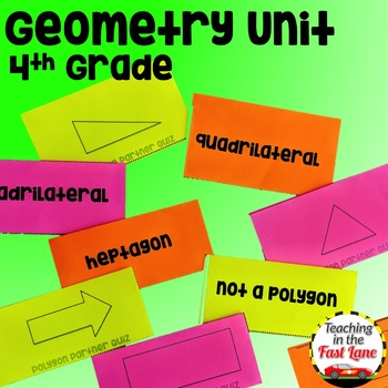 Geometry Unit with Lesson Plans