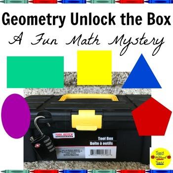 Geometry Unlock the Box: A Fun Math Mystery