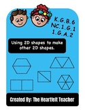 Geometry: Using 2D shapes to make other 2D shapes