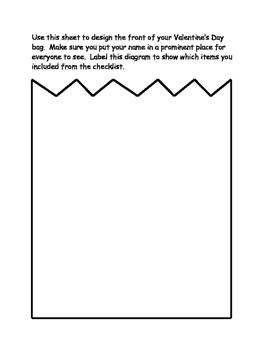 Geometry Valentine Bag Craft