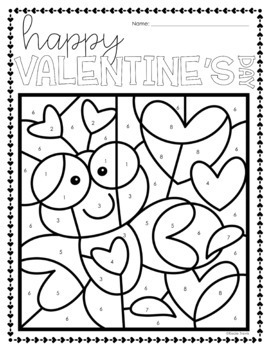 Congruent Triangles Geometry Valentine's Day Coloring Activity