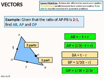 Geometry: Vectors 3 - Geometric Problems (Perfect for GCSE and IGCSE)