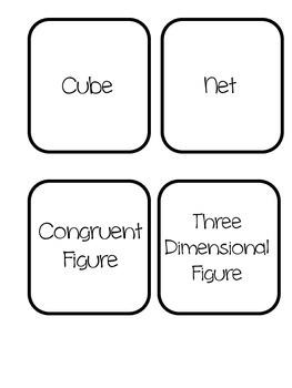 Geometry Vocab Matching Game
