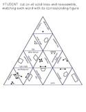 "Geometry Vocab ""Tarsia-Style"" Puzzle"