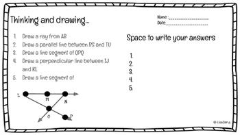 Geometry Vocab Terms!