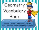 Geometry Vocabulary Book