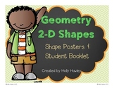 Geometry Vocabulary Booklet-2D Shapes