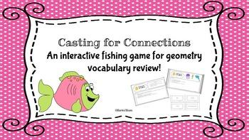 Geometry Vocabulary Game
