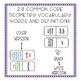 Geometry Vocabulary Game Dominoes