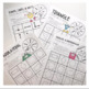 Geometry Vocabulary Game Set