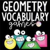 Geometry Vocabulary Game Set