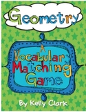 Geometry Vocabulary Games-Common Core Aligned