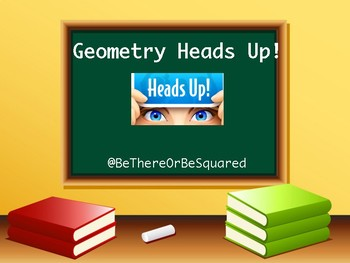 Geometry Vocabulary Heads Up Game