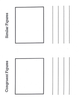Geometry Vocabulary Journal
