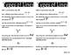 Geometry Vocabulary Math Journal