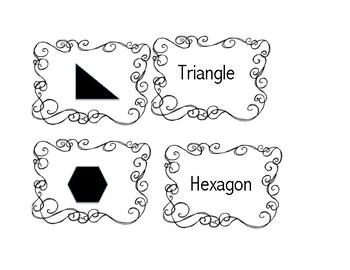 Geometry Vocabulary Memory Game