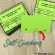 Geometry Vocabulary Poke Cards: 4th grade