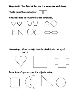 Geometry Vocabulary Study Guide