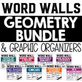 Geometry Word Wall BUNDLE
