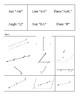 Geometry Vocabulary and Symbol Matching Game