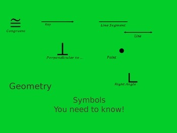 Geometry Vocabulary with Shapes