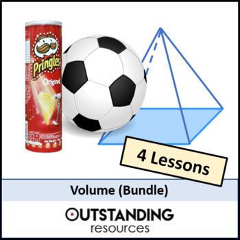Geometry: Volume Bundle - 4 Lessons