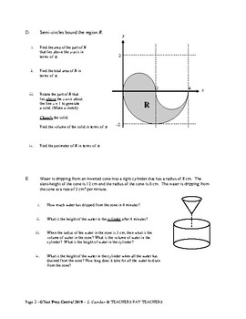Geometry: Volume and Surface Area