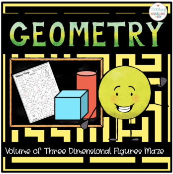 Geometry Volume of 3D Solids Maze