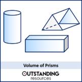 Volume 1 - Volume of Prisms (+ worksheet)